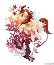 Autumn Blaze - White by SambaNeko