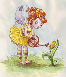 Bee fairy by Sabinerich