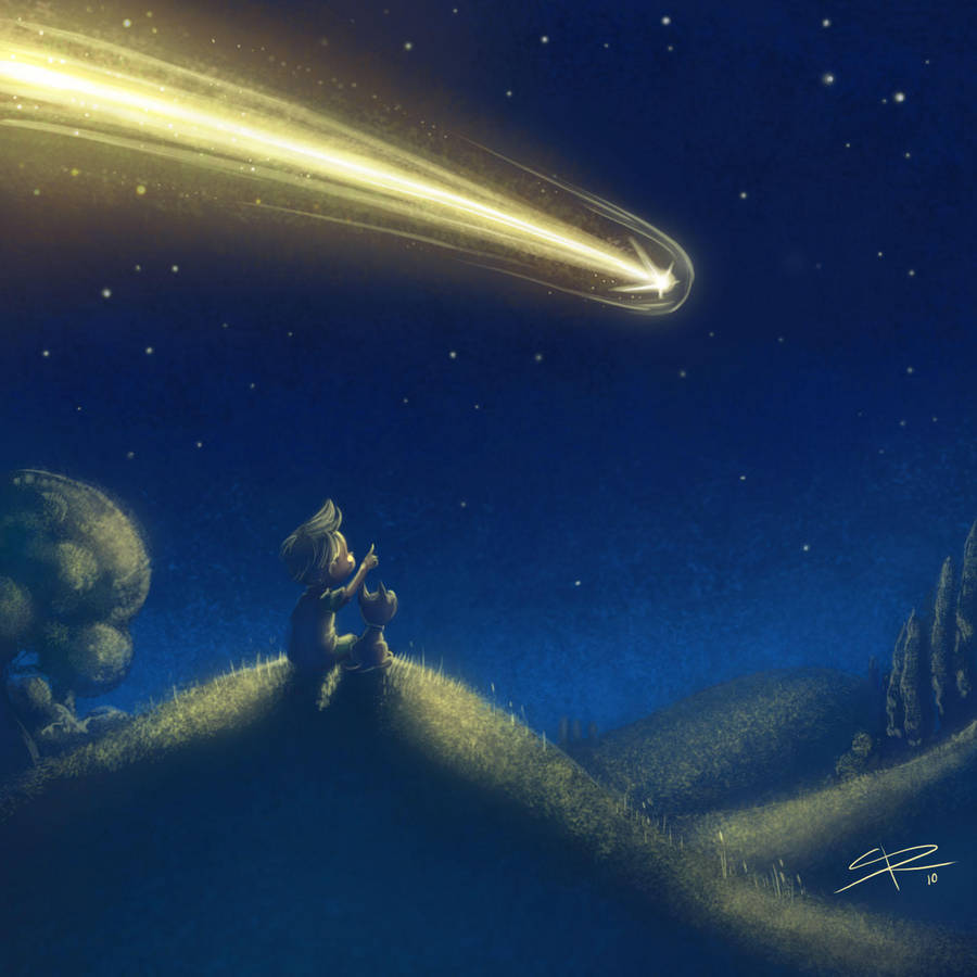 When you wish upon a star.. by Sabinerich