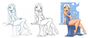 Style challenge: Chris Sanders by Sabinerich