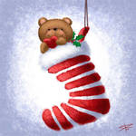 Christmas Stocking by Sabinerich
