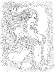 Poison Ivy pencils by Sabinerich