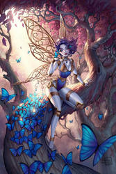 Mechanical fairy colors by Sabinerich