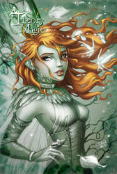 Theory of Magic Cover in color by Sabinerich