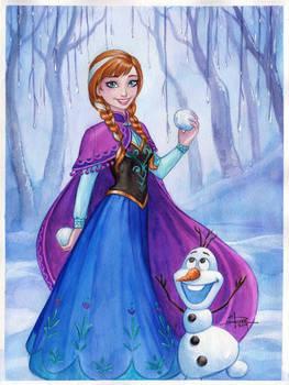 Anna Frozen by Sabinerich