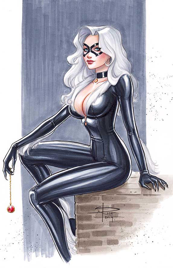 Blackcat commission by Sabinerich