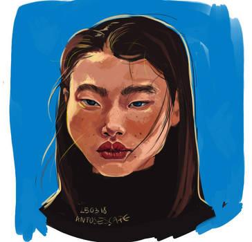 Portrait study by AntosEscape