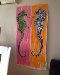 Seahorses by AntosEscape