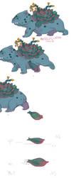 Mini comic: Bulbasaur Birth by AntosEscape