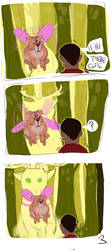 Forest Gardians Comic p3 by AntosEscape