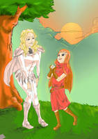 Claymore Teresa and Claire by Jira89