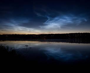 Noctilucent Clouds 2 by JuhaniViitanen