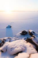 Serene winter morning by JuhaniViitanen