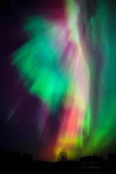 Aurora Borealis by JuhaniViitanen