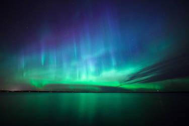Beautiful northern lights by JuhaniViitanen