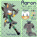 AaronRefSheet by KawaiiPotatoFox