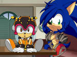 Sonic x Recolor by KawaiiPotatoFox