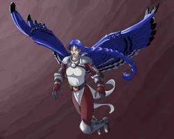 Talon in Color by Kezhound