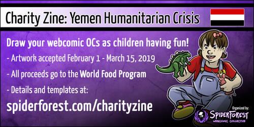 Webcomic Charity Zine by Kezhound