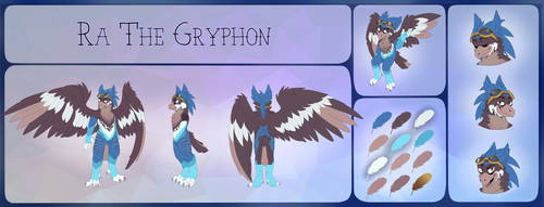 Ra The Gryphon by Sikopio