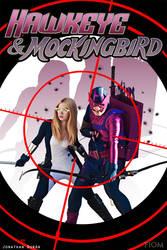 Hawkeye and Mockingbird by FioreSofen