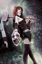 Harley Quinn - Welcome back, Mr. J by FioreSofen