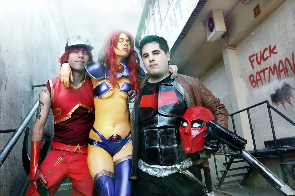 Red Hood And The Outlaws by FioreSofen