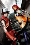 Starfire and Arsenal - Red Hood and the Outlaws by FioreSofen