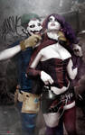 Harley Quinn and Joker - Suicide Squad - New 52 by FioreSofen