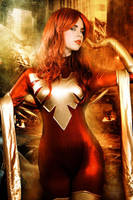 Dark Phoenix - Rise Again - Marvel Comics by FioreSofen