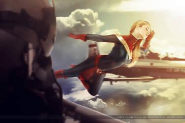 Captain Marvel III - Marvel Comics by FioreSofen