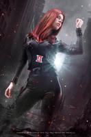Black Widow - The Avengers - Marvel Comics by FioreSofen