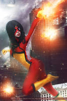 Spider Woman - Marvel Comics by FioreSofen