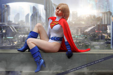 Power Girl - Earth Two: Society - DC Comics by FioreSofen