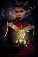 Captain Marvel - Marvel Comics by FioreSofen