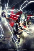 Thor - Marvel Comics by FioreSofen