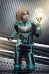 Captain Marvel - Marvel Cinematic Universe by FioreSofen