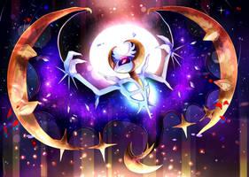 Lunala: Shine of the Moon - Pokemon by Invidiata