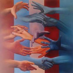 hands by maximgolovko