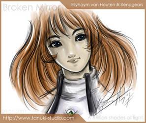 Ellyhaym van Houten - Xenogear by bookie-chan