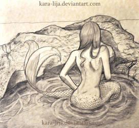 Mermaid WIP by kara-lija