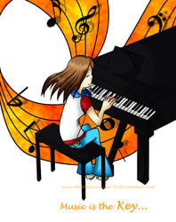 Music is the Key... by PrinceVi
