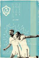 Los Angeles Galaxy by bowbood