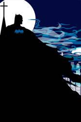 Batman by bowbood