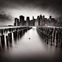 NYC Downtown by xavierrey
