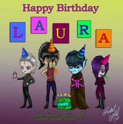 Happy Birthday, Laura! by Moonlight-Bloomer