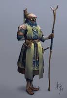 Akmeri Character Design by ReznovKG
