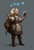 Witch's Apprentice by ReznovKG