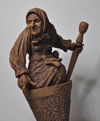 Baba Yaga, 1 by DellamorteCo