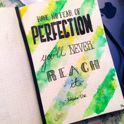 bullet journal quote by Lady-Twilight-Eyes